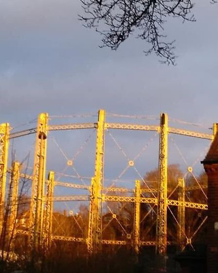 """Patricia Harper believes the gas holder at Gas Hill """"must be saved"""" (Image: Patricia Harper)"""