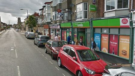 St Peter's Road Londis Post Office in Great Yarmouth, which has temporarily closed. Picture: Google