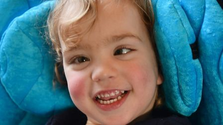 Alice Craythorne has cerebral palsy. Her family are hoping to raise £50,000 for a life changing oper