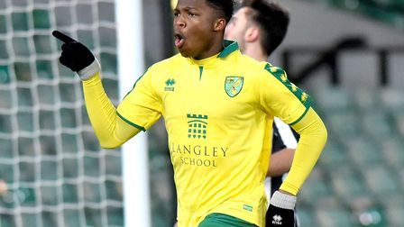 Alan Fleming was on target for Norwich City's FA Youth Cup hopefuls in the last round's win over New