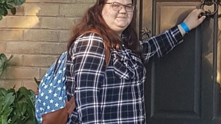 19-year-old Ebony Warnes has been made Hellesdon Slimming World Group's young slimmer of the year af