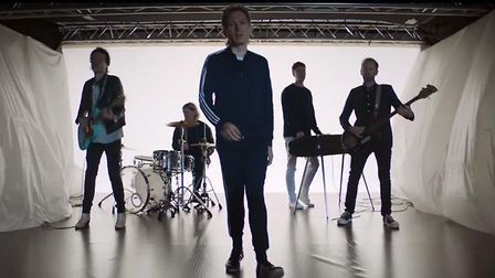 Franz Ferdinand in the video for the track Always Ascending. Photo: Domino Recording Co