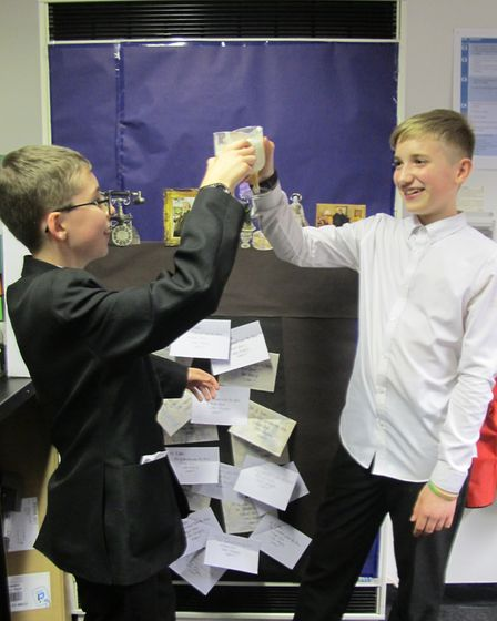 Scenes from the Harry Potter celebration at Northgate High School in Dereham. Picture: NORTHGATE HIG