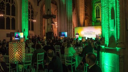 Norfolk and Suffolk Tourism Awards 2018 at St Edmundsbury Cathedral in Bury St Edmunds.Photo: Simon