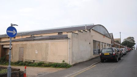 The former Witley Press plant in Hunstanton. Picture: Chris Bishop