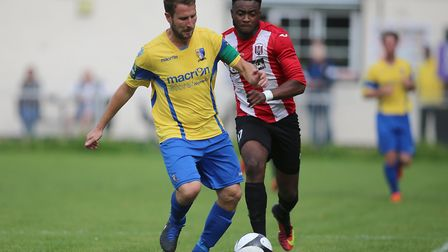 Andrew Eastaugh is expected to make his 200th appearance for Norwich United today. Picture: George P