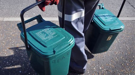 Food waste collection. Picture: ADRIAN JUDD/ARCHANT LIBRARY