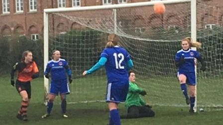 Bungay Town Ladies beat Sprowston Ladies to stretch their lead at the top of Division One of the NWG