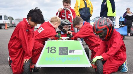 Formula Goblin Racing at Scottow Enterprise Park. The NAAME conference will explore ways to address