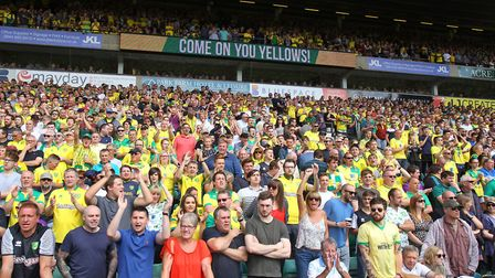 Norwich City averaged 26,354 at Carrow Road during 2016-17. Picture by Paul Chesterton/Focus Images