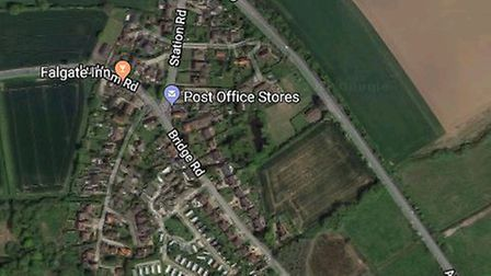 The crash happened on the A149 in Potter Heigham by the junction with Station Road.Picture: Google M