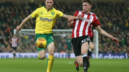 Norwich City forward Marley Watkins has been the subject of a seven-figure bid from Bristol City dur