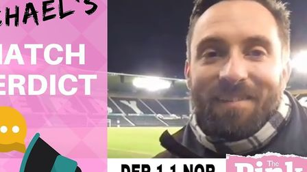 Michael Bailey delivers his video verdict from Pride Park as Norwich City claim an excellent point a