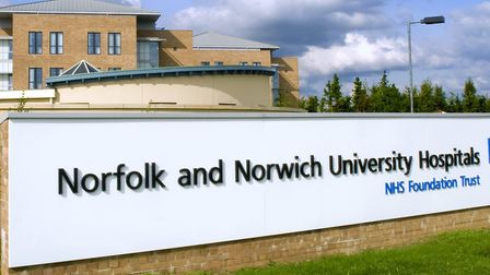 The Norfolk and Norwich University Hospital (NNUH). Picture: NNUH