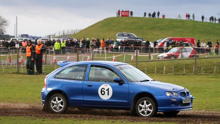 Harleston driver Aaron Rix was a Class A podium finisher last year and will be aiming for a repeat i