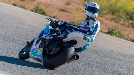 Former Superstock 1000 champion Josh Elliott checking for traffic. Picture: Barry Clay