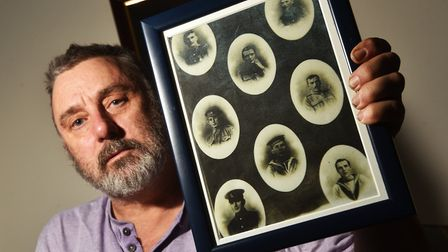 Steve Hopwood who is trying to trace the history and ancestors of his grandfather's brothers, who al