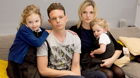 Damion Burbank has been diagnosed with a rare form of cancer, the family are hoping to rasie money t