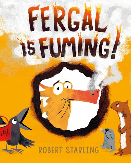 Robert Starling''s book Fergal is Fuming has been shortlisted in the illustrated books category of t