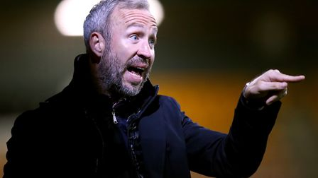 Shaun Derry left Cambridge by mutual consent after Friday's home draw with Lincoln. Picture: Mike Eg