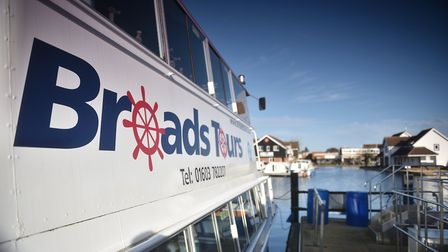 Broads Tours at Wroxham. Picture: ANTONY KELLY