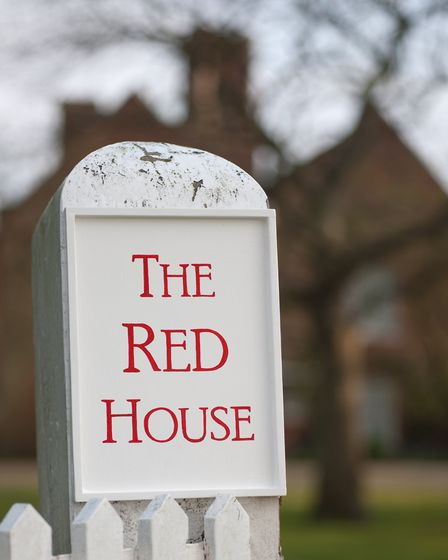 The Red House, Aldeburgh. Picture: Archant Library