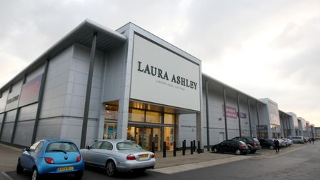 A Laura Ashley store, as the company warned that full-year profits will be lower than expected amid