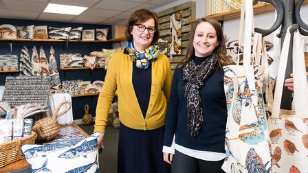 Mother and daughter team Michelle and Stephanie Witts officialy open their new shop, Mitographie, in