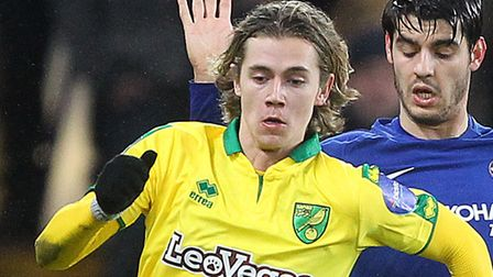 Todd Cantwell made his City debut at Chelsea in January. Picture: Paul Chesterton/Focus Images Ltd