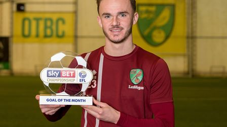 Norwich City star James Maddison has won the Sky Bet Championship Goal of the Month award for Januar