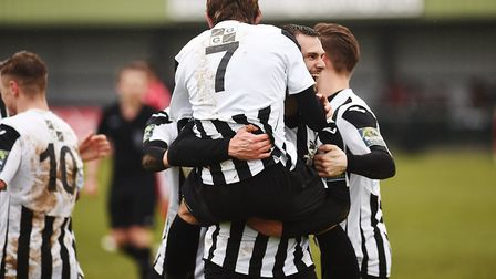 Dereham Town are in good form ahead of the home game against Aveley. Picture: Ian Burt