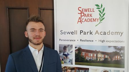 Accountancy apprentice Charlie Atkins, who has made the final five in a national accountancy award.