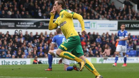 I'm guessing James Maddison might well be among the headlines after Ipswich leave town. Picture: Pau