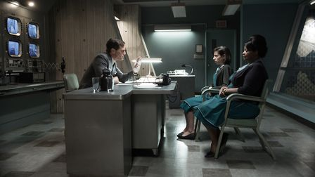 Michael Shannon, Sally Hawkins and Octavia Spencer in The Shape of Water. Photo: Twentieth Century F