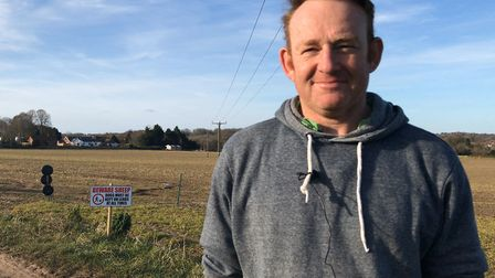 Norfolk shepherd David Cross has urged pet owners not to ignore signs aiming to prevent livestock fr