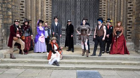 King's Lynn's Bazarr Convivial is inspired by the Asylum Steampunk Festival in Lincoln. Picture: Bry