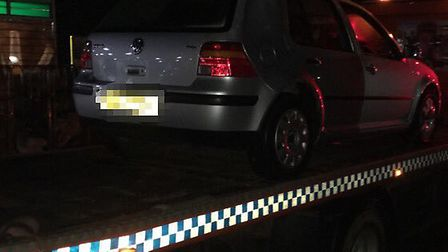 Police specials arrested three people after a pursuit in Norwich. Picture: Norfolk Police
