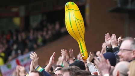 Sign of the times - Carrow Road will be rocking. Picture: Paul Chesterton/Focus Images Ltd