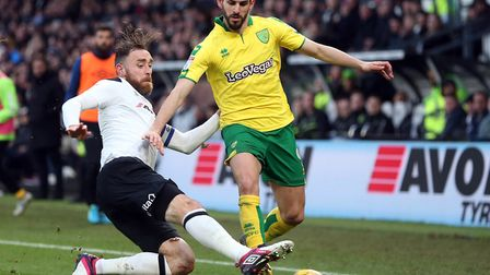 Nelson Oliveira retains his starting place fort Norwich despite 10 games without a goal. Picture by