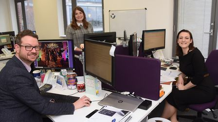Emily Groves, right, managing director, and James Groves, head of talent and organisational developm