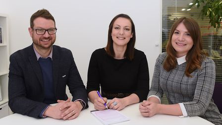 Emily Groves, managing director, and James Groves, head of talent and organisational development; wi