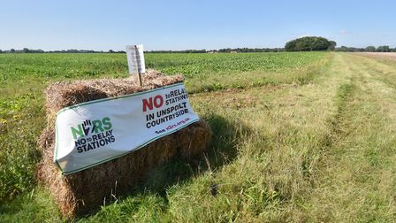 Plans for relay stations for the offshore wind farms in the Norfolk countryside have sparked opposit