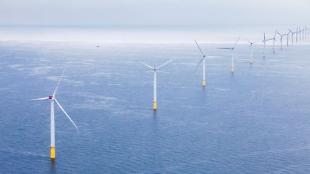 Orsted Energy's Walney wind farm in the Irish Sea. Picture: Dong Energy