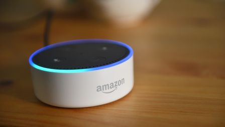 An Amazon Echo Dot. Norfolk County Council is exploring whether the devices, often referred to as Al