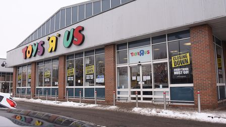 The Toys R Us closing down sale has started. Picture: DENISE BRADLEY
