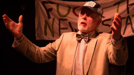 The Norwich Players are performing Jerusalem by Jez Butterworth at the Maddermarket Theatre.Photo: S