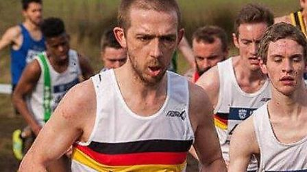 Dominic Blake hopes Norfolk now have a blueprint for the future with its cross country teams. Pictur
