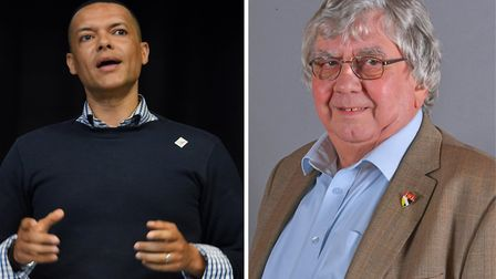 Clive Lewis (Left) and Cliff Jordan (Right) Picture: Denise Bradley and Norfolk Conservatives