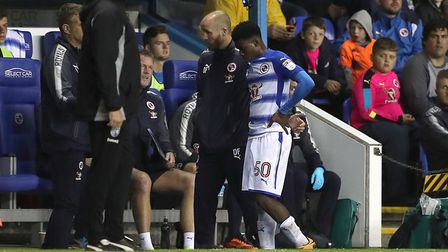 Omar Richards has impressed for Reading this seaosn. Picture: PA