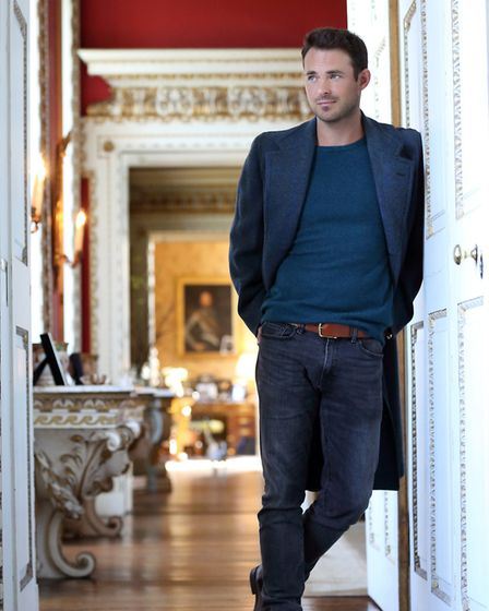 Jules Knight at Raynham Hall. Copyright Julia Holland 2018. No unauthorised use. http://www.all-abou